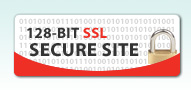 128-bit SSL Secure Site
